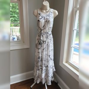 NEW! Calvin Klein Floral Maxi Dress - 12
